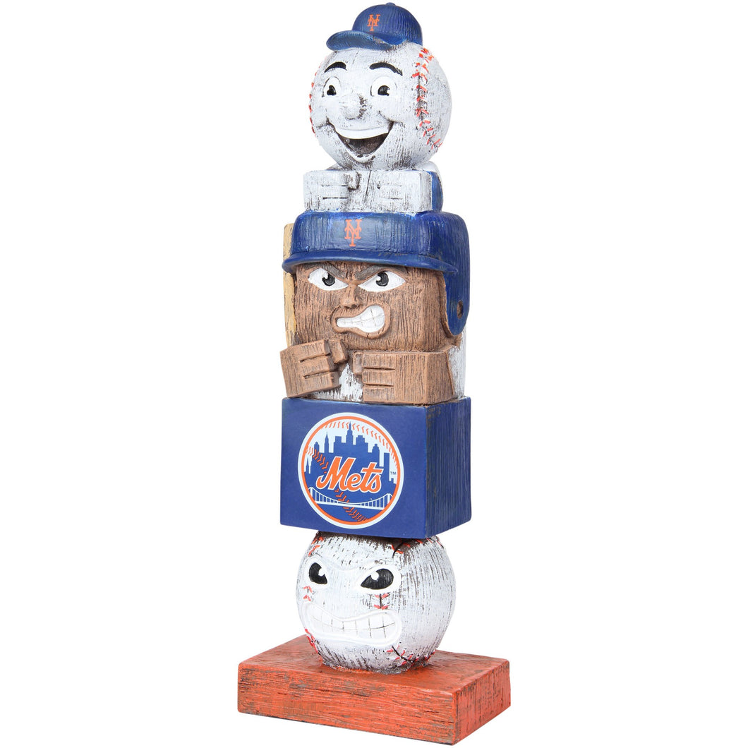 mr met tiki totem, new york mets tiki totem