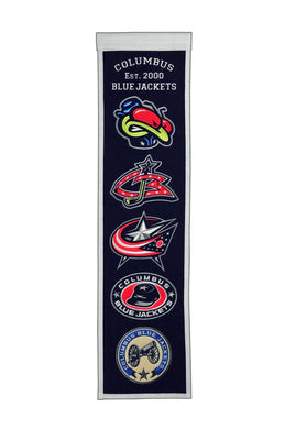 Columbus Blue Jackets Heritage Banner - 8
