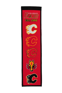 Calgary Flames Heritage Banner - 8