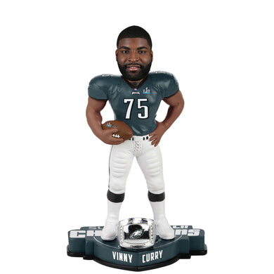Vinny Curry Philadelphia Eagles Super Bowl LII Champions Player Bobblehead