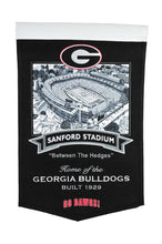 "Georgia Bulldogs Sanford Stadium Banner - 15""x24"""