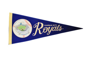Kansas City Royals Vintage Ballpark Traditions Pennant