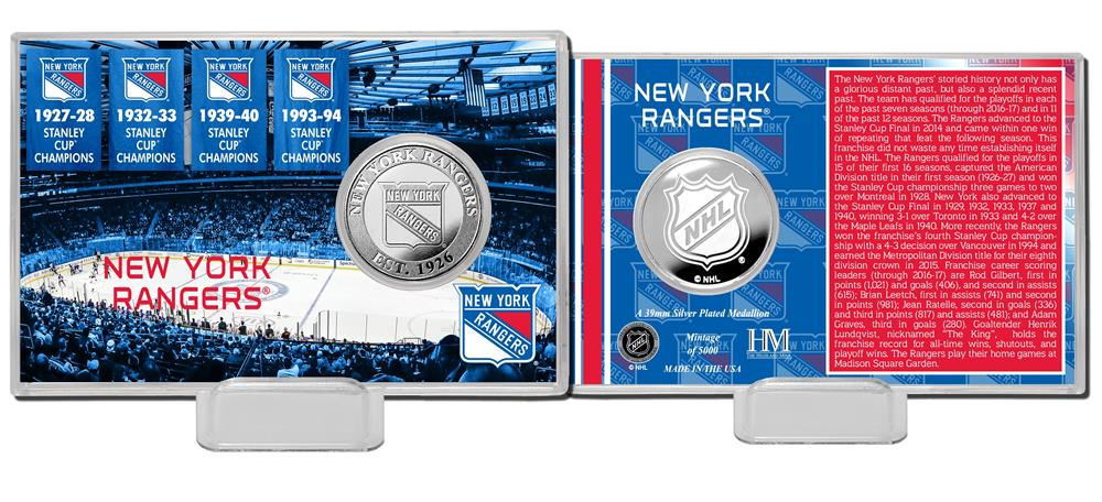 New York Rangers Stanley Cup