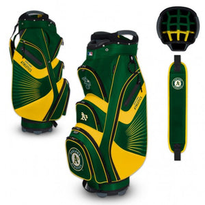 Oakland Athletics Bucket Cooler Cart Golf Bag