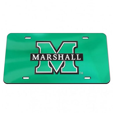 marshall thundering herd mirror license plate