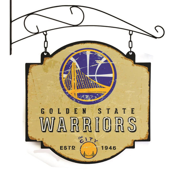 golden state warriors vintage tavern sign