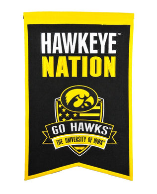 Iowa Hawkeyes Nation Banner - 14