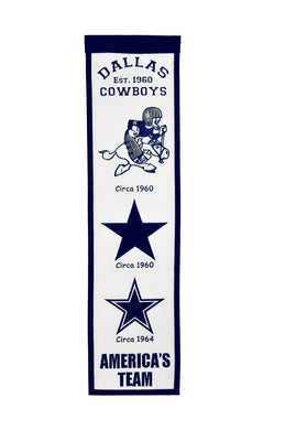 Dallas Cowboys Fan Favorite Heritage Banner - 8