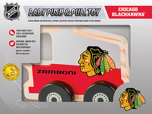 Chicago Blackhawks Baby Push and Pull Toy