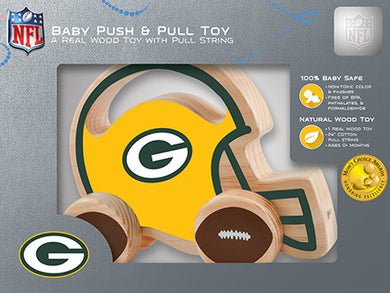 Green Bay Packers Baby Push and Pull Toy, NFL Kids Toys