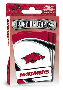 arkansas razorbacks football, arkansas razorbacks basketball, arkansas razorbacks playing cards