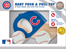 Chicago Cubs Push and Pull Toy, cubs baby toy