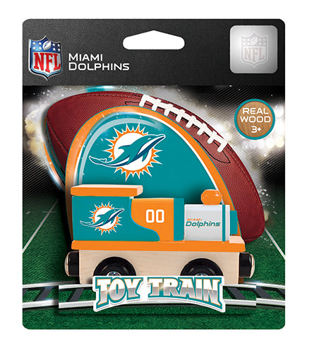 Miami Dolphins Toy Train, Miami Dolphins Train, NFL