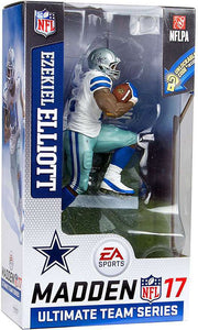 Ezekiel Elliott Dallas Cowboys McFarlane EA Sports Madden 17 Ultimate Team Series 2 Action Figure