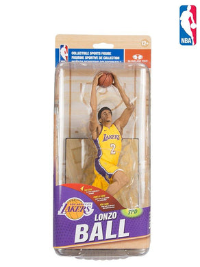 lonzo ball la lakers, lonzo ball los angeles lakers action figure