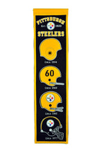 "Pittsburgh Steelers Heritage Banner - 8""x32"""