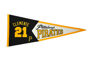 Roberto Clemente Pittsburgh Pirates Legends Pennant