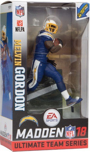 melvin gordon la chargers, los angeles chargers mcfarlane