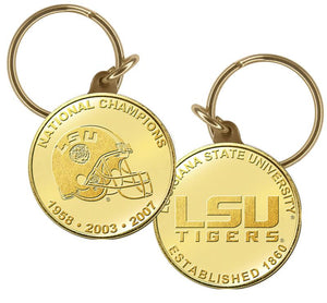 LSU Tigers, Louisiana State Tigers, key chain