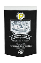 "Pittsburgh Pirates Forbes Field Stadium Banner - 15""x24"""
