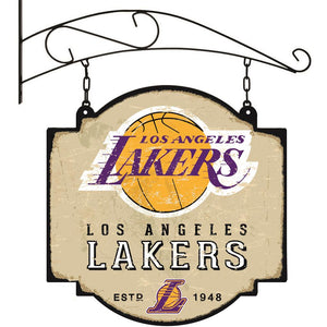 Los Angeles Lakers Vintage Tavern Sign
