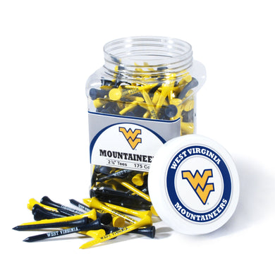 wvu mountaineers golf tees, west virginia mountaineers golf tees