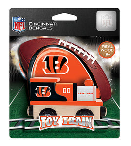 Cincinnati Bengals Toy Train, Cincinnati Bengals Train, NFL