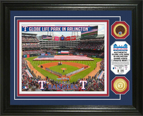 texas rangers game used