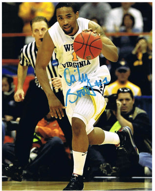 wvu basketball, dasean butler autograph, press virginia