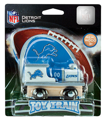 Detroit Lions Toy Train, Detroit Lions Train, NFL