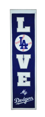 Los Angeles Dodgers Love Heritage Banner - 8
