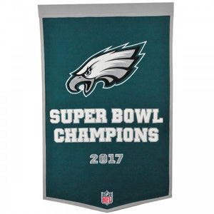 philadelphia eagles super bowl 52 champions dynasty banner