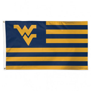 West Virginia Mountaineers Mountaineer Nation Deluxe Flag - 3'x5'