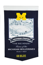 "Michigan Wolverines The Big House Stadium Banner - 15""x24"""