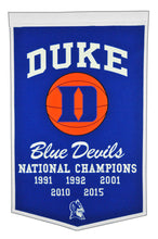 "Duke Blue Devils Dynasty Wool Banner - 24""x36"""