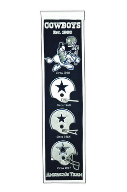 Dallas Cowboys Heritage Banner - 8