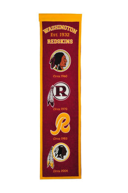 Washington Redskins Fan Favorite Heritage Banner - 8