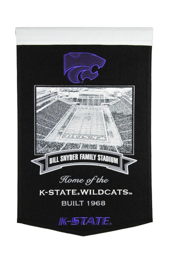 Kansas State Wildcats Bill Snyder Family Stadium Banner - 15