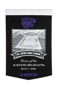 "Kansas State Wildcats Bill Snyder Family Stadium Banner - 15""x24"""