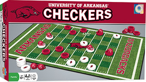 arkansas razorbacks checkers