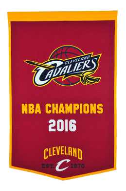 Cleveland Cavaliers Dynasty Wool Banner - 24