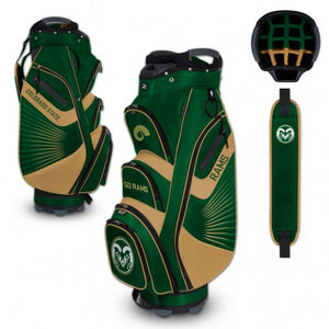 Colorado State Rams Bucket Cooler Cart Golf Bag