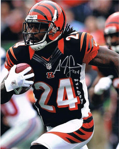 "NFL memorabilia Bengals Adam ""PAC-MAN"" Jones signed 8x10 photo from Sports Fanz"