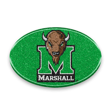 Marshall Thundering Herd Bling Color Emblem