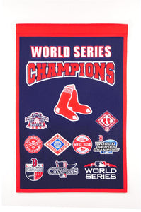"Boston Red Sox Champions Banner - 14""x22"""
