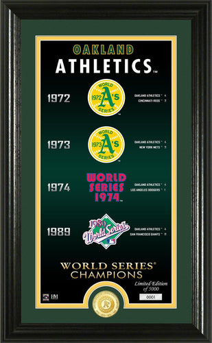 oakland athletics, oakland a's world series champions