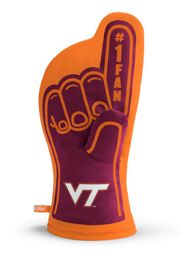 Virginia Tech Hokies #1 Fan Oven Mitt