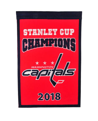 Washington Capitals Stanley Cup Champions Banner - 14