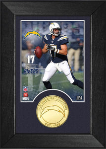 Philip Rivers Chargers Bronze Coin M-Series