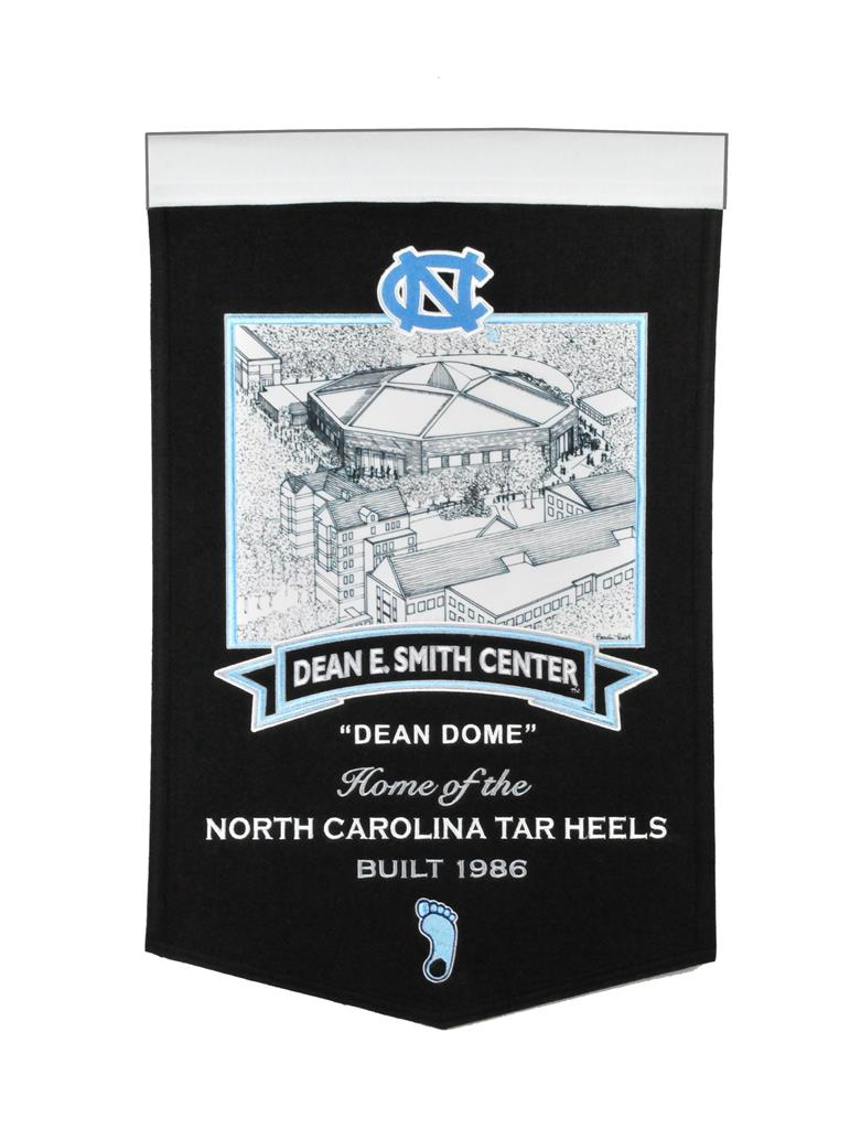 North Carolina Tar Heels Dean Smith Center Stadium Banner - 15